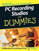 PC Recording Studios For Dummies (eBook, ePUB)