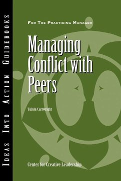 Managing Conflict with Peers (eBook, ePUB) - Cartwright, Talula