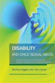 Disability and Child Sexual Abuse (eBook, ePUB)