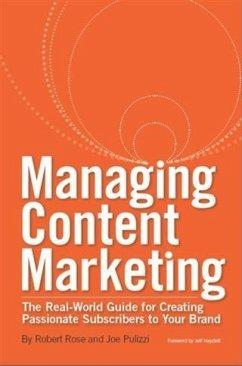 Managing Content Marketing (eBook, ePUB)