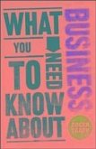 What You Need to Know about Business (eBook, PDF)