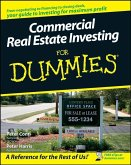 Commercial Real Estate Investing For Dummies (eBook, ePUB)