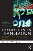 Evaluation in Translation (eBook, ePUB)