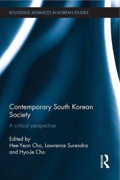 Contemporary South Korean Society (eBook, ePUB)