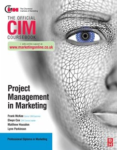 CIM Coursebook: Project Management in Marketing (eBook, PDF) - Cox, Elwyn; Housden, Matthew; Parkinson, Lynn