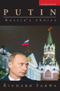 Putin (eBook, ePUB) - Sakwa, Richard