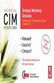 CIM Revision Cards Strategic Marketing Decisions (eBook, PDF)