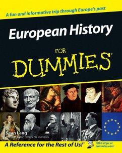 European History for Dummies (eBook, PDF) - Lang, Seán