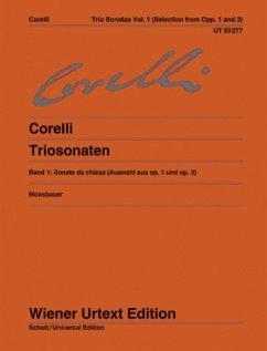 Triosonaten, für 2 Violinen, Orgel (Cembalo/Kla...