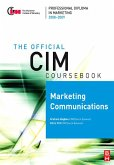 CIM Coursebook 08/09 Marketing Communications (eBook, PDF)