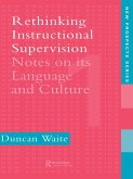 Rethinking Instructional Supervision (eBook, ePUB)