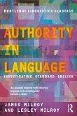 Authority in Language (eBook, PDF)