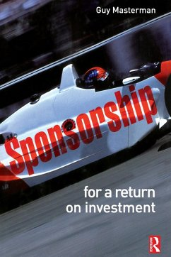 Sponsorship: For a Return on Investment (eBook, PDF) - Masterman, Guy