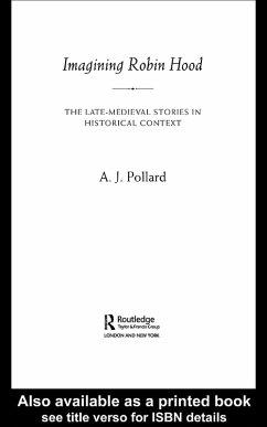 Imagining Robin Hood (eBook, ePUB) - Pollard, A. J.