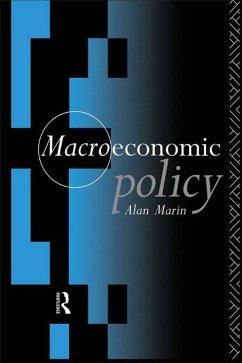 Macroeconomic Policy (eBook, ePUB) - Marin, Alan