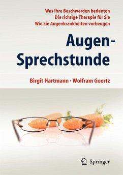 Augen-Sprechstunde - Hartmann, Birgit; Goertz, Wolfram