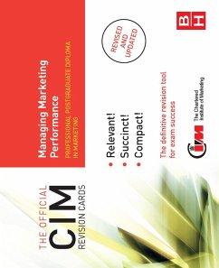 CIM Revision Cards Managing Marketing Performance (eBook, PDF) - Beamish, Karen