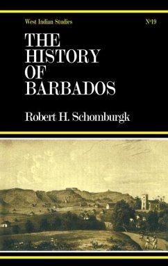 History of Barbados (eBook, PDF) - Schomburg, Sir Robert