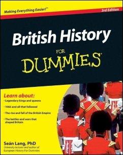 British History For Dummies (eBook, PDF) - Lang, Seán