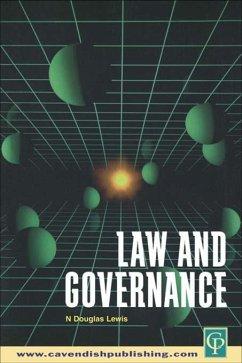 Law and Governance (eBook, ePUB) - Douglas Lewis, N.