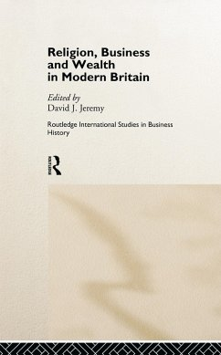 Religion, Business and Wealth in Modern Britain (eBook, ePUB)