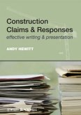 Construction Claims and Responses (eBook, ePUB)