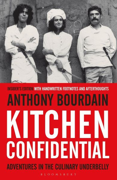 Kitchen Confidential von Anthony Bourdain englisches