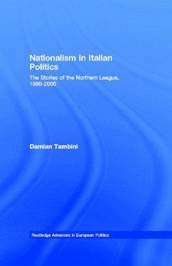Nationalism in Italian Politics (eBook, ePUB) - Tambini, Damian