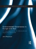 Environmental Governance in Europe and Asia (eBook, ePUB)