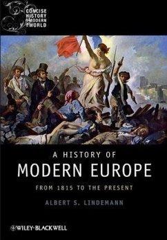 A History of Modern Europe (eBook, ePUB) - Lindemann, Albert S.