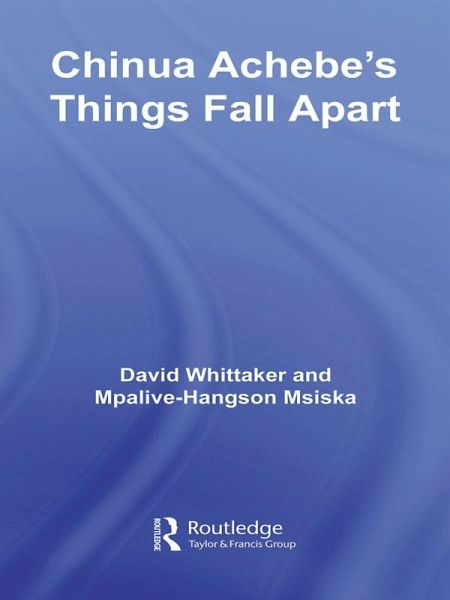 a comprehensive analysis of things fall apart by chinua achebe Things fall apart dominates discussions on achebe, hence the need to  a  comprehensive analysis of achebe's writing, including poetry and.