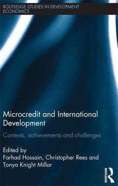 Microcredit and International Development (eBook, ePUB)