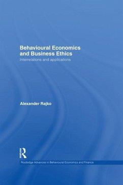 Behavioural Economics and Business Ethics (eBook, ePUB) - Rajko, Philip Alexander