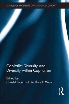 Capitalist Diversity and Diversity within Capitalism (eBook, ePUB)