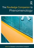 The Routledge Companion to Phenomenology (eBook, PDF)