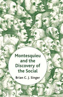 Montesquieu and the Discovery of the Social (eBook, PDF)