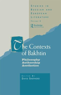 The Contexts of Bakhtin