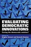 Evaluating Democratic Innovations (eBook, PDF)