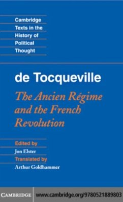 Tocqueville: The Ancien Regime and the French Revolution (eBook, PDF)