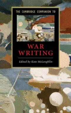 Cambridge Companion to War Writing (eBook, PDF)
