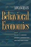 Advances in Behavioral Economics (eBook, PDF)