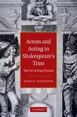 Actors and Acting in Shakespeare's Time (eBook, PDF)