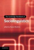 Cambridge Handbook of Sociolinguistics (eBook, PDF)