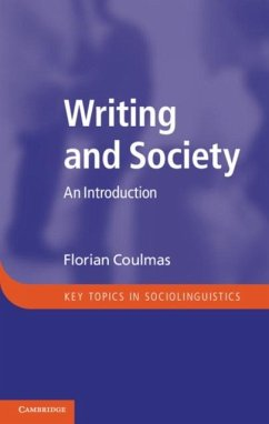 Writing and Society (eBook, PDF) - Coulmas, Florian
