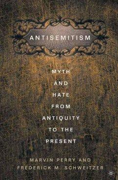 Anti-Semitism (eBook, PDF) - Schweitzer, F.; Perry, M.