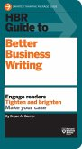 HBR Guide to Better Business Writing (HBR Guide Series) (eBook, ePUB)
