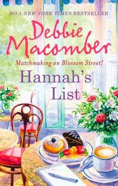 Hannahs List (A Blossom Street Novel, Book 7)