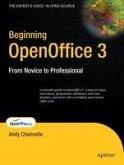 Beginning OpenOffice 3 (eBook, PDF)