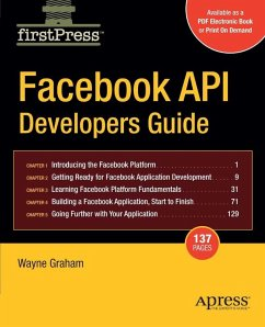 Facebook API Developers Guide (eBook, PDF) - Graham, Alan