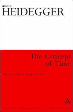 The Concept of Time (eBook, ePUB) - Heidegger, Martin